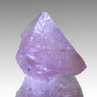 "1.5"" Translucent PINK FLUORITE Crystal Well Formed Octahedron Mongolia for sale"