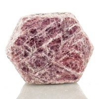 """1.8"""" 367ct Cranberry Red Barrel Shape RUBY Crystal with RECORD KEEPERS for sale"""