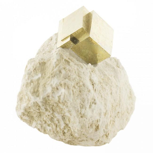 "3.6"" Matrix Piece with PYRITE Near-Perfect Sharp Crystals Navajun Spain for sale"