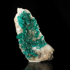"""2.7"""" Sparkling Vibrant Forest Green DIOPTASE Crystals to 2mm Kazakhstan for sale"""