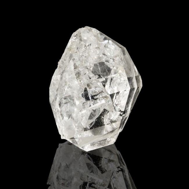 """1.4"""" Water Clear HERKIMER DIAMOND Quartz Crystal Treasure Mountain NY for sale"""