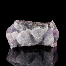 """3.9"""" Blue-Gray-Pink SMITHSONITE Crystallized Botryoidal Mounds Mexico for sale"""