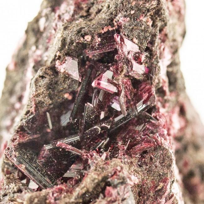 "2.8"" MagentaPurple ShinyBladed ERYTHRITE Crystals ""CobaltBloom"" Morocco for sale"