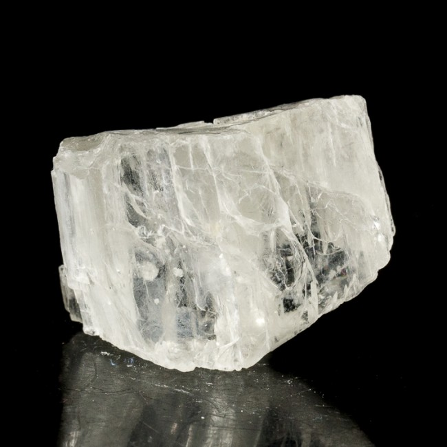"""1.5"""" Clear Gemmy Lithium PETALITE Bright Shiny Crystal Section Brazil for sale"""