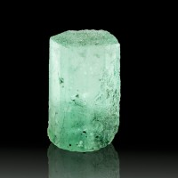 13mm 5.5ct Gem EMERALD CRYSTAL Vivid Green Pristine Terminated Colombia for sale