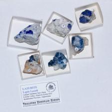 Wholesale Flat 6 pieces LAZURITE Crystals Lapis Lazuli Afghanistan @$20 for sale