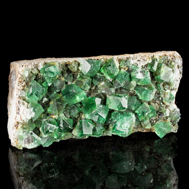 """5.6"""" Blue Green FLUORITE Penetrating Twins Cubic Crystals Rogerley M UK for sale"""