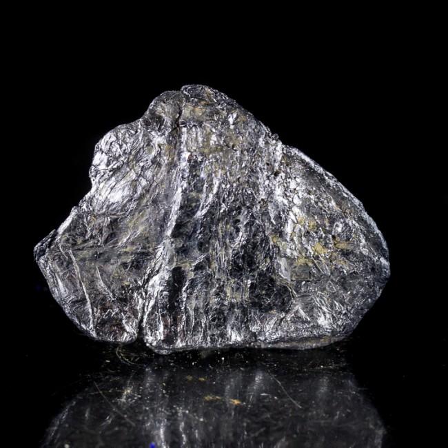 "1.9"" Metallic Silver MOLYBDENITE CRYSTAL Mirror Bright Luster Australia for sale"