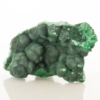 "3.6"" Shiny Green Silky FIBROUS MALACHITE Compact Crystal Sprays Congo for sale"
