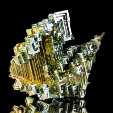 """3.2"""" Kaleidoscope Colorful Rainbow BISMUTH Hoppered Crystals Germany for sale"""