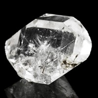 "1.2"" Sparkly Gemmy Clear HERKIMER DIAMOND Double Terminated Crystal NY for sale"