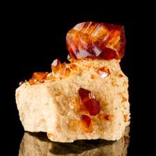 "2.6"" Sharp CrimsonRed ARKANITE Flashy Wet-Look Pristine Crystals Poland for sale"