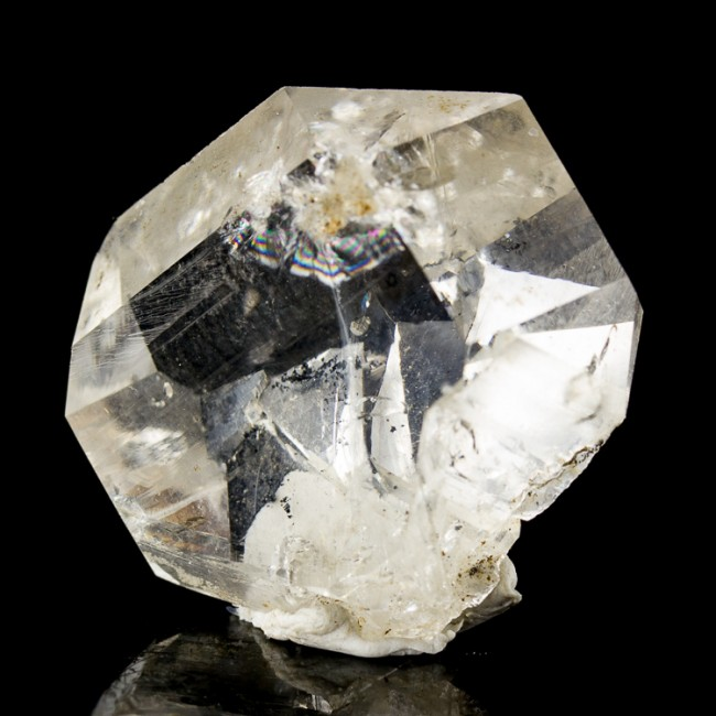 "1.1"" Water Clear See Through Gem HERKIMER DIAMOND Terminated Crystal NY for sale"