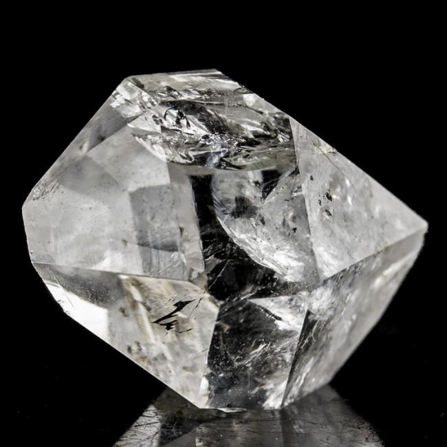 "1"" Double Terminated GEM HERKIMER DIAMOND Crystal w-Rainbows Fonda NY for sale"