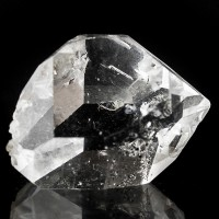 ".9"" Water Clear Terminated Gem HERKIMER DIAMOND QUARTZ Crystal New York for sale"