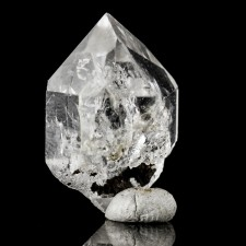 "1.1"" Water Clear HERKIMER DIAMONDS Double Terminated Quartz Crystal NY for sale"
