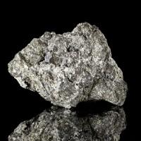 "3.8"" Metallic Silver SKUTTERUDITE Brilliant Crystals Cobalt Ore Morocco for sale"