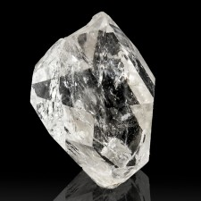 "1.1"" Double Terminated HERKIMER DIAMOND Crystal Bursting w-Rainbows NY for sale"