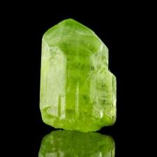 18mm 18.2ct Gem PERIDOT CRYSTAL Sharp Termination Vivid Green Pakistan for sale
