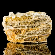 """3.3"""" Dagwood Sandwich Multiple Layered SELENITE Spiky Crystals Poland for sale"""