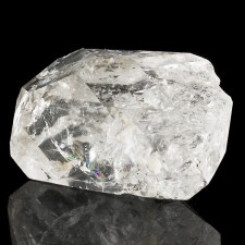 """1.6"""" HERKIMER DIAMOND Terminated Crystal +Colorful Rainbows New York for sale"""