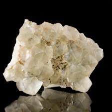 "2.9"" Clear FLUORITE Sharp Crystals on Barite+Quartz Jaimina Mine Spain for sale"