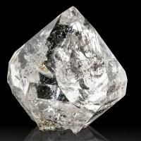 "1.1"" Colorful Rainbows Inside Clear HERKIMER DIAMOND Quartz Crystal NY for sale"