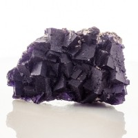 "3.8"" Deep RoyalPurple FLUORITE Sharp Cubic Crystals Minerva #1 Illinois for sale"