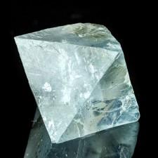 "2.6"" Light BLUE FLUORITE OCTAHEDRON Gemmy Crystal Cleavage Illinois for sale"