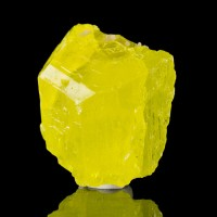 """1.2"""" Lustrous Translucent Yellow SULFUR Colorful Gemmy Crystal Sicily for sale"""