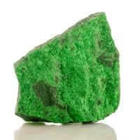 "3.4"" Sparkling Brilliant EmeraldGreen UVAROVITE Twinkly Crystals Russia for sale"