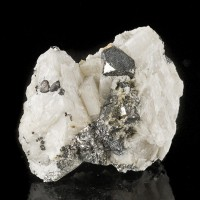 "1.9"" Metallic Silver CARROLITE Brilliant Crystals to 10mm Kambove Congo for sale"