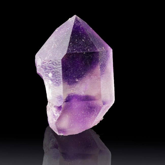 """1.1"""" Purple Violet HOURGLASS AMETHYST Double Terminated Crystal Morocco for sale"""