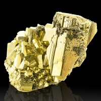 "3.6"" GOLDEN PYRITE +Sphalerite SharpShiny Brassy Metallic Crystals Peru for sale"