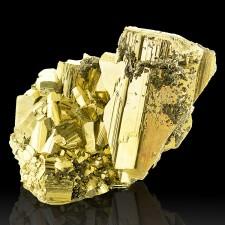 "3.6"" GOLDEN PYRITE +Sphalerite SharpShiny Brassy Metallic Crystals Peru for sale"
