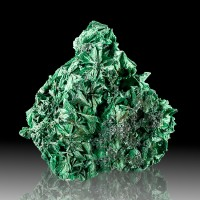 "2.8"" Sparkly Rain Forest Green Fibrous SILKY MALACHITE Crystals Congo for sale"