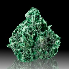 """2.8"""" Sparkly Rain Forest Green Fibrous SILKY MALACHITE Crystals Congo for sale"""
