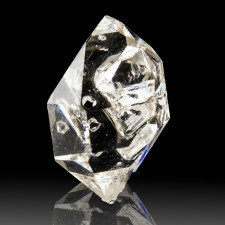 """1"""" Water Clear GEM HERKIMER DIAMOND Double Terminated Quartz Crystal NY for sale"""