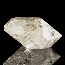 "1.8"" Double Terminated HERKIMER DIAMOND Crystal Bursting w-Rainbows NY for sale"