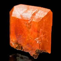 16mm Rich Translucent Orange Red WULFENITE Crystal Red Cloud Mine AZ for sale
