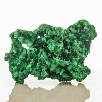"3.7"" ForestGreen FIBROUS MALACHITE Radiant Sparkly Silky Crystals Congo for sale"