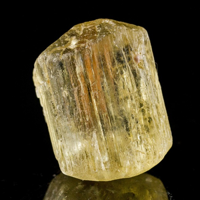 "1"" 51ct Sharp Shiny Terminated Gem YELLOW SCAPOLITE Crystal Tanzania for sale"