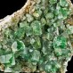 "4.2"" Sharp BlueGreen FLUORITE Cubic Gem Crystals Fluoresces Rogerley UK for sale"