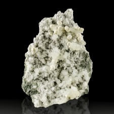 "4.1"" Smooth White GYROLITE Crystal Balls on Prehnite and Quartz India for sale"