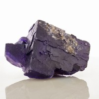 "4.5"" Dark Purple MUZQUIZ FLUORITE Sharp Cubic Crystals to 4.2"" Mexico for sale"