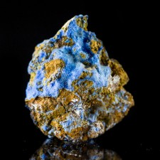 """1.0"""" Hairy Neon Blue CYANOTRICHITE Crystals Mined in Grand Canyon 1970s for sale"""