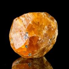 "1.2"" 154ct SPESSARTINE GARNET V.Sharp Marmalade Orange Crystal Tanzania for sale"