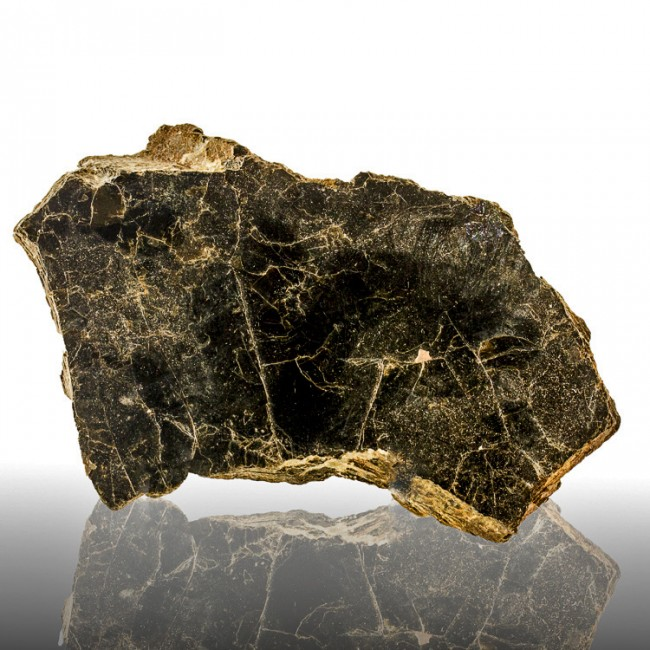 """6.2"""" Book of Black Iron-Rich BIOTITE MICA Thin Layered Crystal Ontario for sale"""