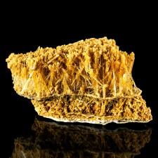 "4.5"" Dagwood Sandwich Multiple Layers SELENITE Orange Crystals Poland for sale"