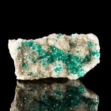 """2.6"""" Sharp Sparkly EmeraldGreen DIOPTASE Crystals AltynTyube Kazakhstan for sale"""